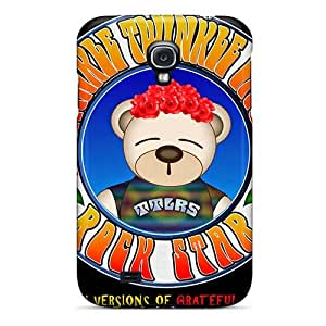 Great Cell-phone Hard Covers For Samsung Galaxy S4 With Custom Attractive Grateful Dead Image ChristopherWalsh