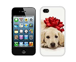 Recommend Design Christmas Dog White iPhone 4 4S Case 30