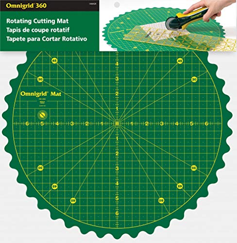 Omnigrid 14WGR Rotating Mat Cutters & Accessories