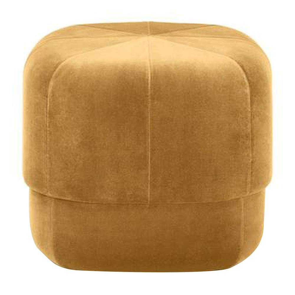 Foot Rest ZHAOHUI Pouffes and Footstools Ottoman Pleuche Cloth Solid Wood Frame Multifunction Skin-Friendly for Home, Office (Color : D, Size : 17.7''x15.7'') by ZHAOHUI-Foot Hammock