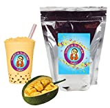 10+ Drinks Jackfruit Boba Tea Kit: Tea Powder, Tapioca Pearls & Straws By Buddha Bubbles Boba