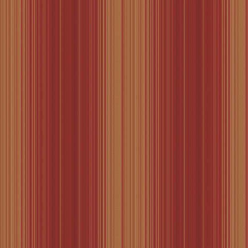 - Decorate By Color Red Hampton Stripe Wallpaper BC1581352
