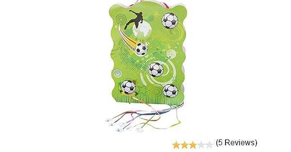 Mopec Piñata con Dibujo de balones de Futbol, Pack de 1 Unidad ...
