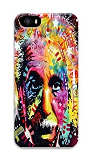 albert einstein Polycarbonate Hard Case Cover for iPhone 5c 3D
