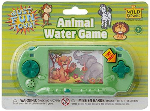 Wild Republic Elephant, Lion, Water Game, Animal, Kids Travel Games, Kids Gifts, Handheld Water Game 6