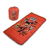Cambay Linens Nickelodeon Kids Paw Patrol Sleeping Bag Storage Bag, Red