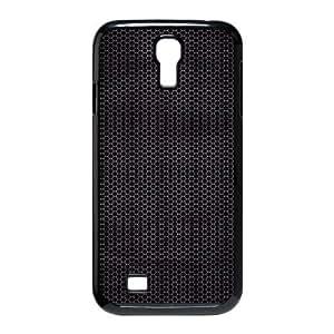 Cathyathome Hexagonal Dark Metallic Pattern Samsung Galaxy S4 Cases, [Black]