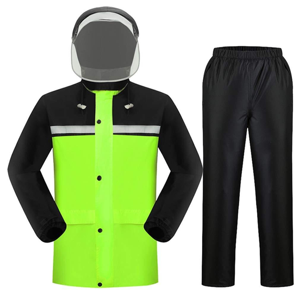 Payper SET FLUO Completo Antipioggia Giacca Pantaloni Fluorescente Da Lavoro