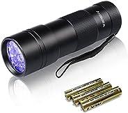 Vansky® UV Blacklight Flashlight, Pets Ultra Violet Urine and Stain Detector Fluorescent Whitening Agents Dete