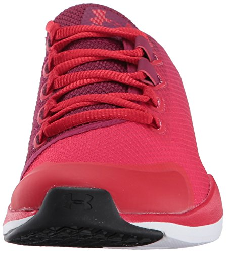 Charged Under M Women's Training Currant Rhg STL US Red Shoe Cross Push Black MSV Armour Trainer qErSgE