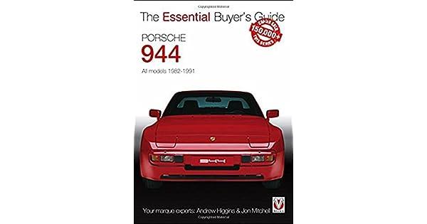 Porsche 944 Warranty /& Maintenance Manual 1983 GOOD CONDITION