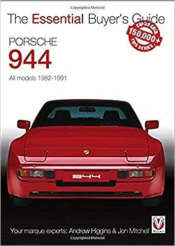 Porsche 944 : All models 1982-1991 Essential Buyers Guide: Amazon.es: Andy Higgins, Jon Mitchell: Libros en idiomas extranjeros