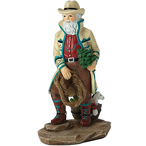 "Pipka Christmas Gifts, ""Southwest Santa"", Santas Of America Collection, Resin Figurine, -"