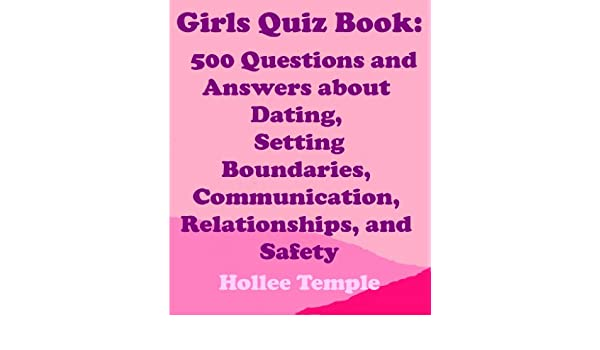 Amazon com: Girls Quiz Book: 500 Questions and Answers about