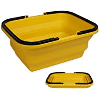 UNIGARDEN Collapsible Sink with 2.64 Gal / 10L Each Wash Basin for Washing Dishes and Person During Camping, Hiking and…