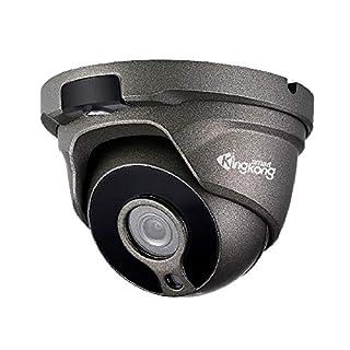 KingkongSmart 2MP Outdoor Poe Camera, Onvif IP Security Camera Dome, One Way Audio, 1920x1080P, 2.8MM Lens, 120° Wide Angle, 98ft Night Vision, H.265, IP67 Weatherproof (KKS-P11228)