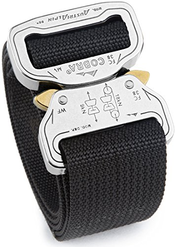 Quick Release Supports - Cobra Quick Release Buckle Men's Cobra Belt - 1.5
