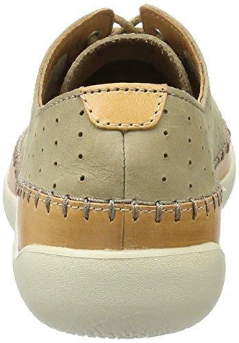 Clarks Veho Flow, Zapatos de Cordones Derby para Hombre Beige (Sand Nubuck)