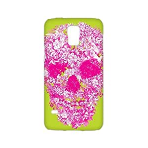 Welcome!SamSung Galaxy S5 3D Cases-Brand New Design Skull And Flower Printed High Quality TPU For SamSung Galaxy S5 3D 5.1 Inch -03