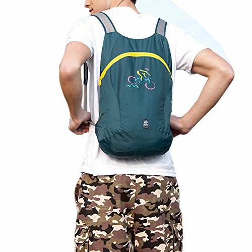 Price comparison product image APAS Ultra Light Packable Handy Travel Backpack Water Resistant Daypack Outdoor Shoulder Bags 14L
