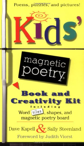Kids' Magnetic Poetry Book and Creativity Kit