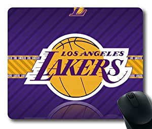 NBA Los Angeles Lakers Logo Mouse Pad/Mouse Mat Rectangle by ieasycenter
