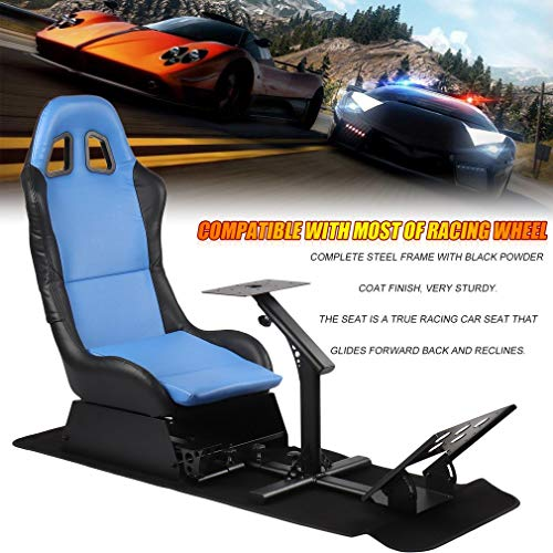 Belovedkai Racing Simulator Cockpit Driving Seat Video