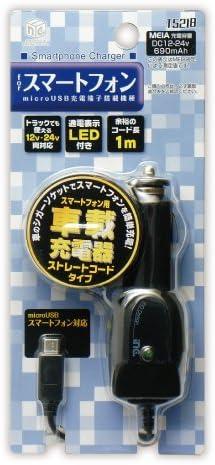 多摩電子工業 inG スマートフォン用車載充電器 microUSB ブラック T5218