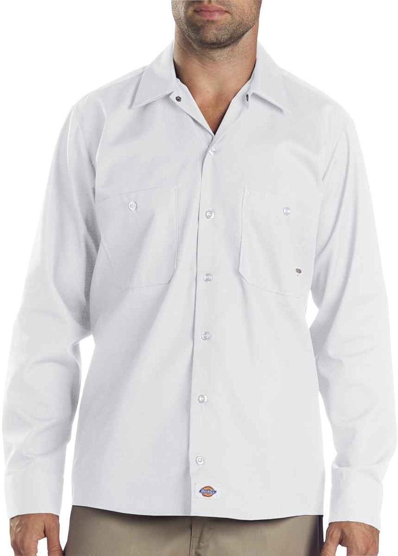 Dickies SHIRT メンズ US サイズ: 4L カラー: ホワイト B00IWOZK9M
