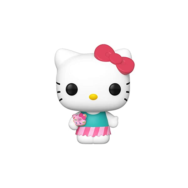 Funko Pop! Sanrio: Hello Kitty - Hello Kitty (Sweet Treat) (Color: Multicolor, Tamaño: Standard)