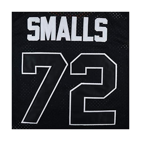Micjersey BadBoy #72 Smalls Basketball Jersey, 90S Hip Hop Clothing Party S-XXXL 5