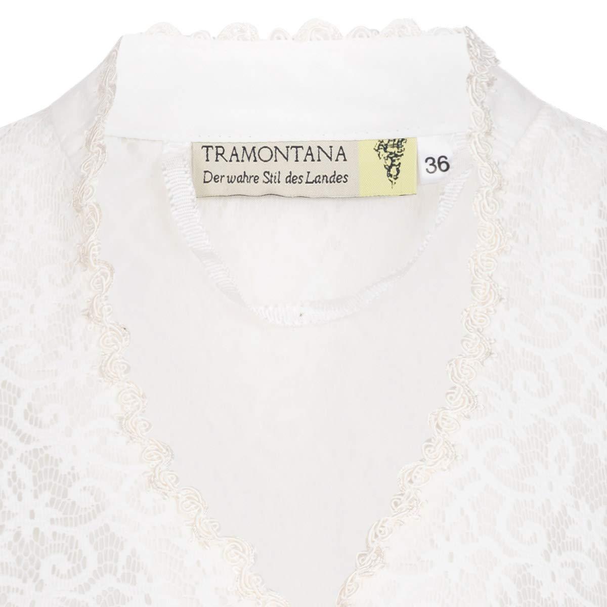 Tramontana Damen Trachten-Mode Dirndlbluse Thea in Ecru traditionell