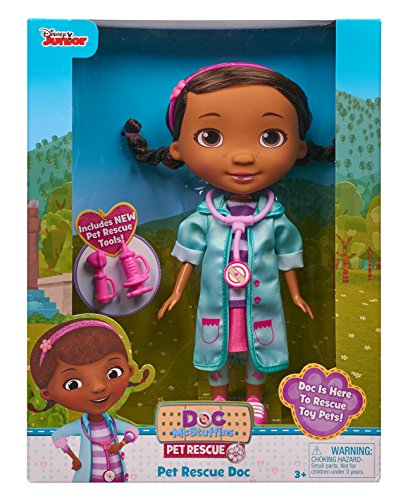 Doc McStuffins 92494 Pet Rescue Doc Doll, Multicolor]()