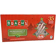 Brach's Bob's Mini Peppermint Candy Canes - Box of 35 (2 pack)