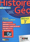 Histoire-Géographie, Enseignement Moral et Civique 3e - Nouveau programme 2016