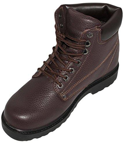 Men's Construction Oil / Abrasion Resistant Leather