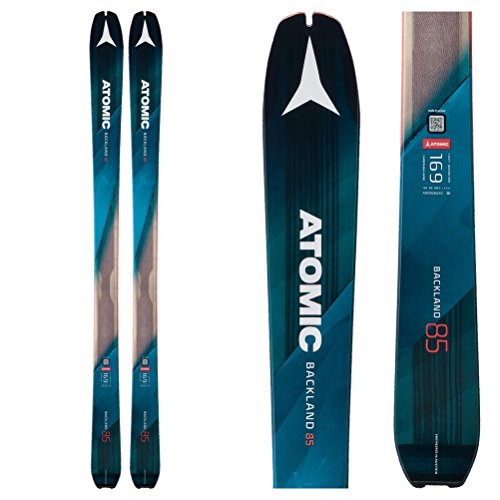 Atomic Backland 85 with Hybrid Skin Skis