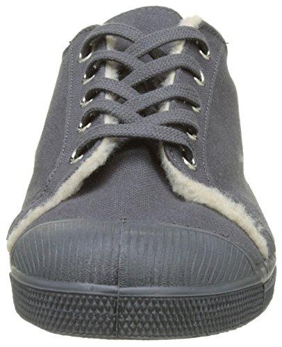 Bensimon Men's Tennis Kelly Fourree Low-Top Sneakers Grey (Gris) r2kJSO7cLp