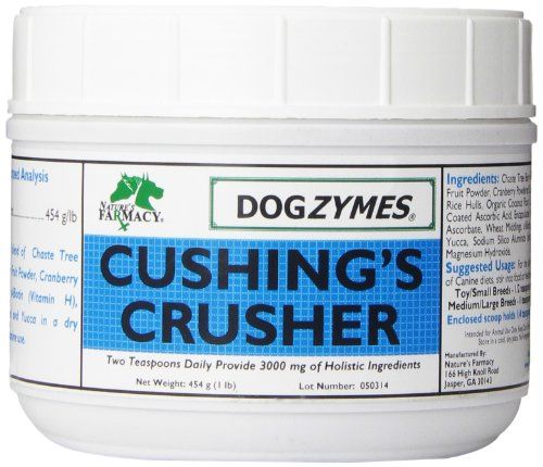 DOGZYMES Cushing's Crusher Pet Supplement, 1-Pound