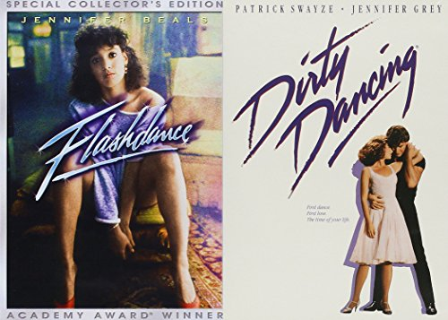 Dirty Dancing DVD Set & Flashdance Movie 80's Set