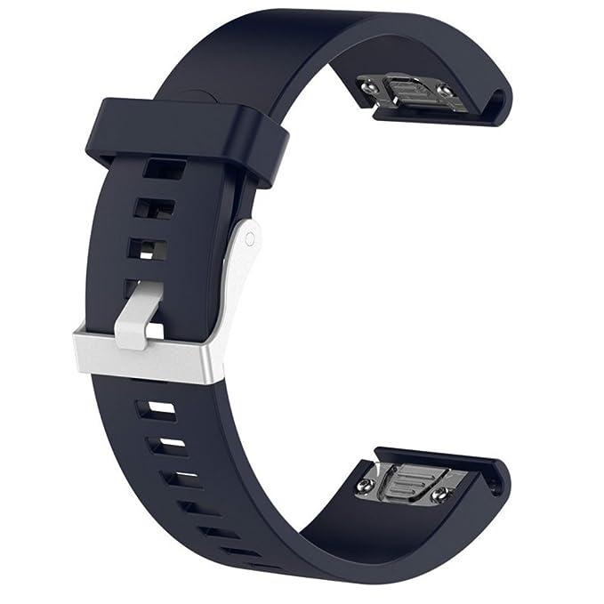 Para Garmin Fenix 5s Sustitución correa de reloj banda - 20 mm de ...
