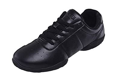 Leather Gymnastic training dance shoes Dancing shoes Training shoes Athletic