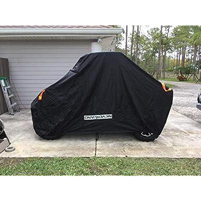 UTV Cover, Waterproof Material for Polaris Ranger Yamaha WOLVERINE Can-Am Honda Kawasaki Teryx Textron Off Road Wildcat 2-3 Passenger Black: Automotive