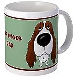 CafePress - Big Nose Springer Spaniel Dad Mug - Unique Coffee Mug, Coffee Cup