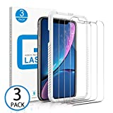 Marge Plus Screen Protector Compatible for iPhone 11,for iPhone Xr, 3 Packs 6.1 inch 0.25mm Clear HD Tempered Glass Screen Protector Anti-Scratch 2.5 D Curved Edge with 99% Touch Accurate