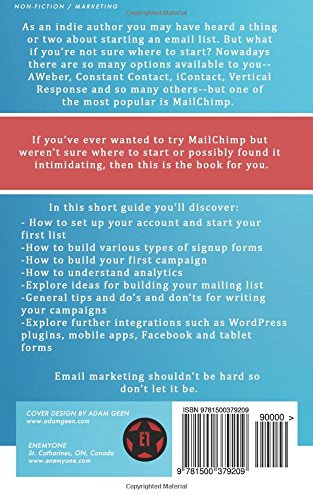 How To Use Mailchimp For Beginners The Indie Authors Guide To