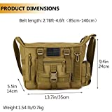 Protector Plus Tactical Messenger Bag Men Military