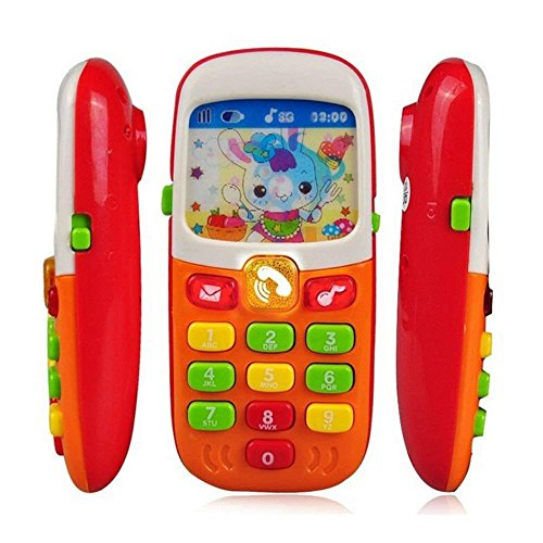 Unbranded Baby Kid Musical Mobile Phone for Toddler Sound He