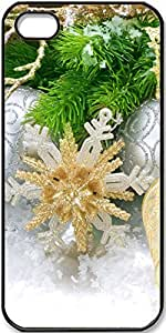 iPhone 4/4s Case,Christmas-Decorations Case for iPhone 4 4s with Black Side by lolosakes