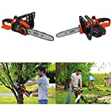 GOOD MEDIA Electric Chainsaw Cordless Battery Powered Operated Saw Wood Log Cut Yard Tool ✅